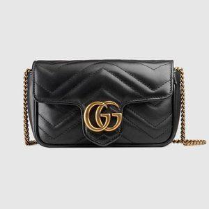 Gucci Soho Small Mini Leather Disco Should780169
